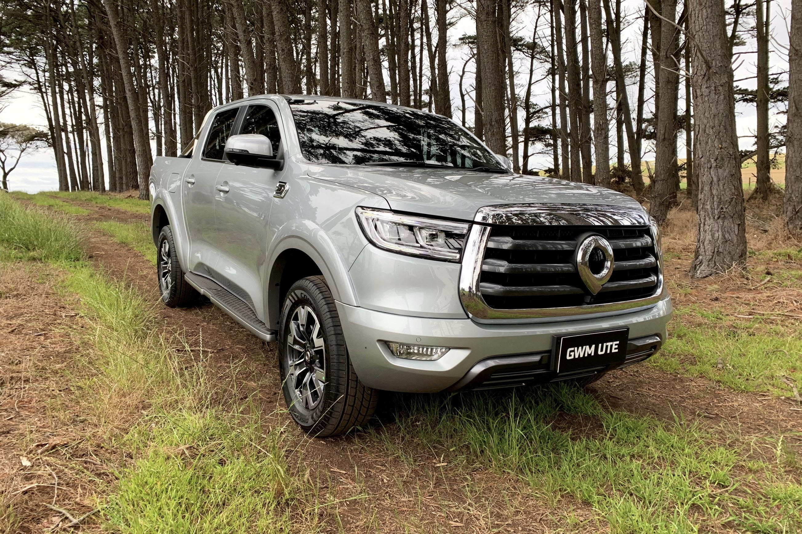 The all-new GWM dual cab ute for sale in Perth