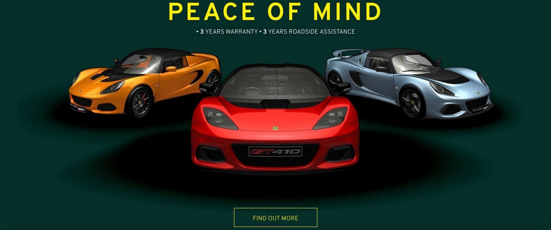 Lotus Cars Perth Warranty